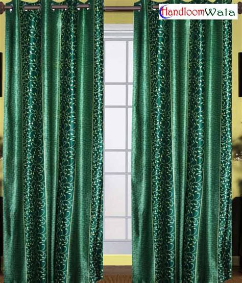 stylish living room curtains handloomwala stylish living room green window curtain