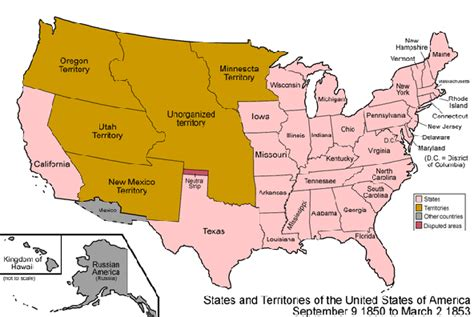 map of the united states in 1850 fugitive slave act of 1850 definition summary study com