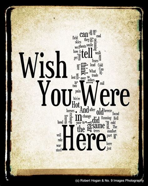 testo pink floyd wish you were here wish you were here lyrics pink floyd word word