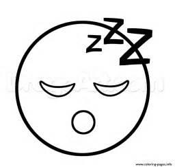 emoji coloring pages printable emoji sleep sleepy coloring pages printable