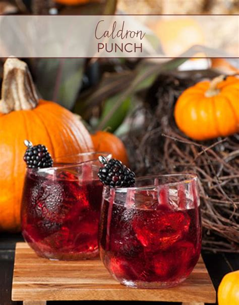 15 fall cocktails try wedding punch and wedding ideas