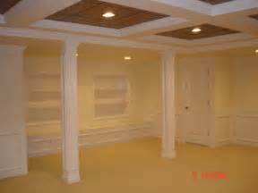 How To Finish A Basement With Low Ceilings Finished Basement