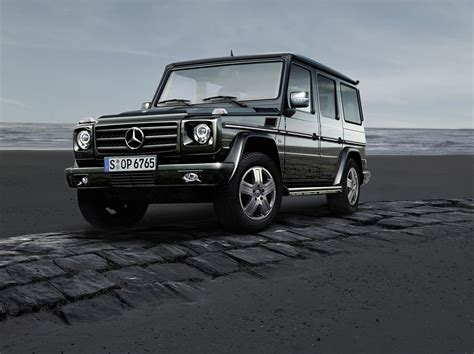 mercedes g wagen world premier of the mercedes g class edition30 and g