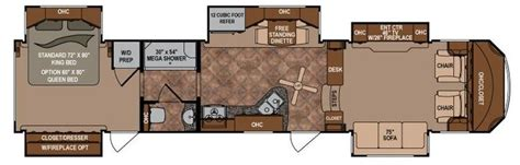 front kitchen rv floor plans pin by faye madura on trailer ideas pinterest