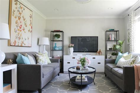 Decorated Rooms 80 ways to decorate a small living room shutterfly