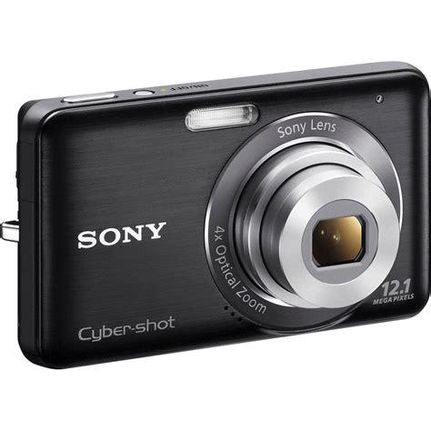 Kamera Digital Sony Cybershot W310 12 1 Mp sony cyber dsc w310 digital black dscw310 b b h