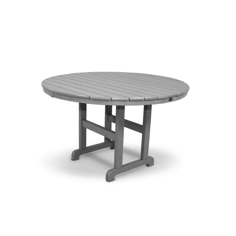 outdoor patio dining table trex outdoor furniture monterey bay 48 in stepping stone