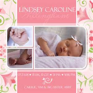 free baby birth announcement templates baby birth announcement photoshop templates volume 3