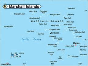 marshall islands political map by maps from maps