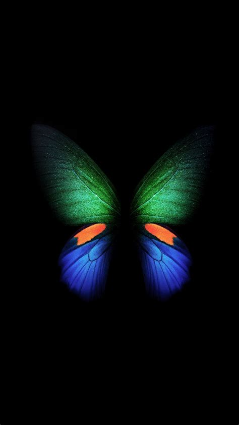 samsung galaxy fold butterfly stock  wallpapers hd wallpapers id