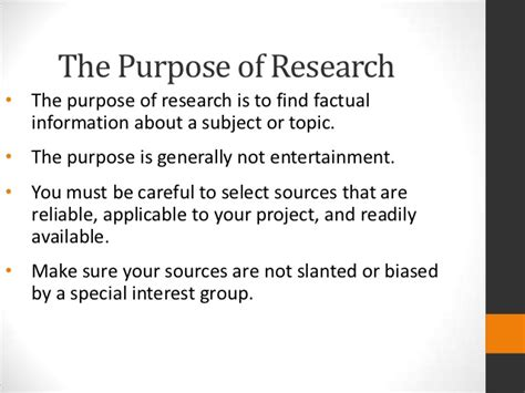 what is the purpose of a research paper the research paper session 1 ss