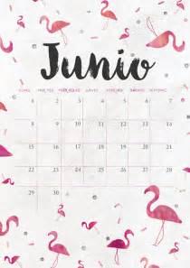 Calendario De Junio Calendario De Junio Imprimible Y Fondo Mr Wonderful