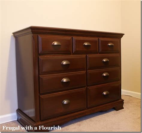 restaining bedroom furniture frugal with a flourish how to strip and restain a dresser