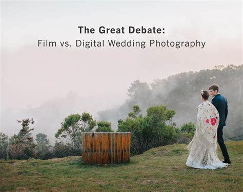 vs digital wedding photography weddings - Digital Wedding Photography