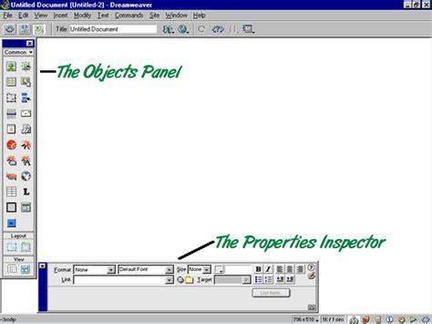 dreamweaver tutorial basic the basics of dreamweaver page 2 at dreamweaver faq com