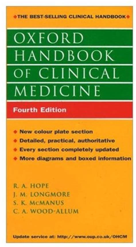 Oxford Handbook Of Clinical Medicine 9780192627834