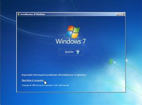 console ripristino windows 7 errore c0000034 dopo aggiornamento di windows 7 x64 a