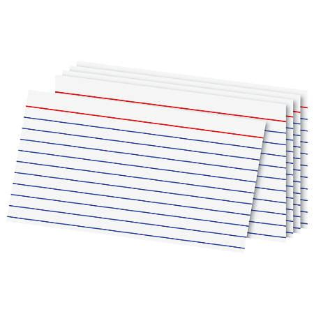 2 x 4 index card template office depot brand index cards 3 x 5 ruled white 100 by