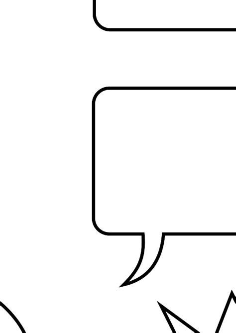 printable bubble quotes conversation bubbles template quotes