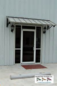 Metal Door Awning Commercial Building Awnings Projects Gallery Of Awnings