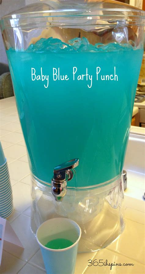 Blue Baby Shower Punch Recipes by Blue S Clues