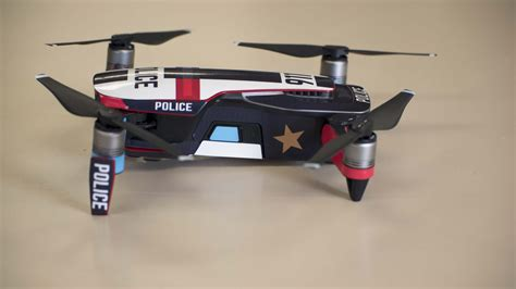 Dji Mavic Air Skin Decal Police Interceptor Dji Mavic Air Skin Template