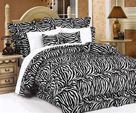 zebra bedroom set zebra prints and decoration patterns personalizing modern bedroom decor