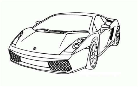 printable lamborghini coloring pages coloring me