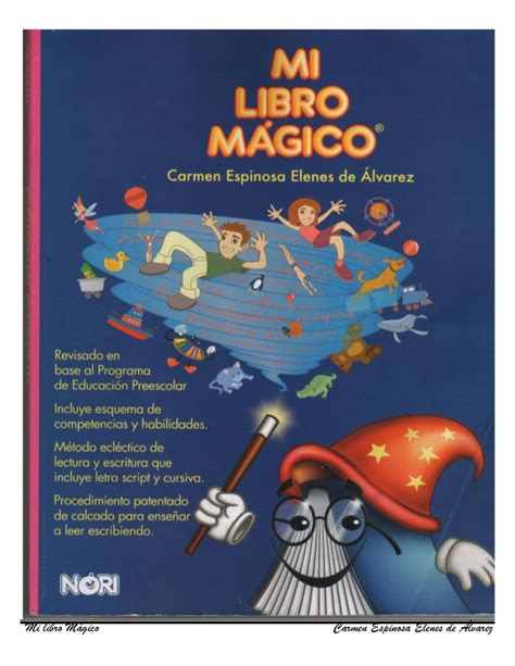 mi libro magico my magic mi libro magico