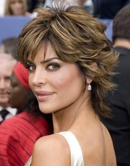 back view of nina rinna hair short celebrity hairstyles for women lisa rinna short