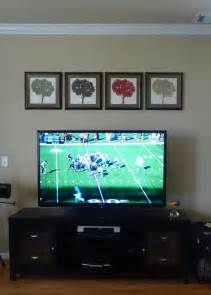 decorating around a flat screen tv my other idea was two
