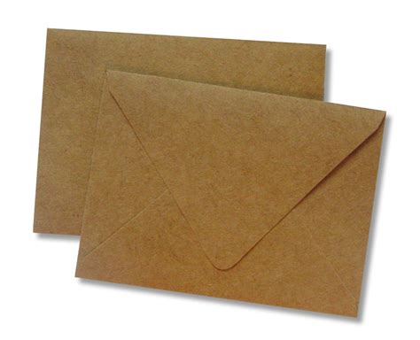 Custom Gift Card Envelopes - gift card envelopes kraft 25 pack