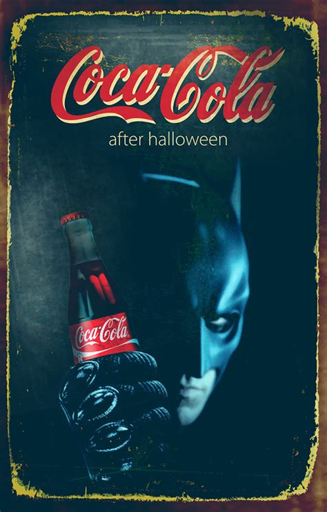 theme line coca cola halloween theme coca cola posters on behance