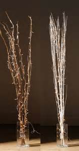 tall decorative brown white natural twigs with 80