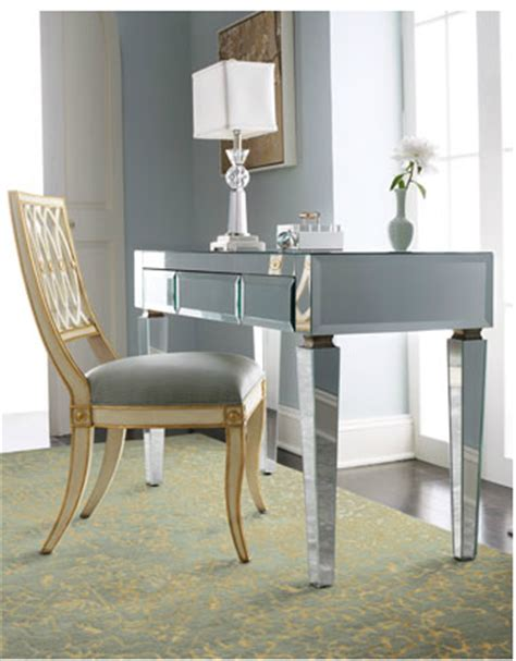 midtown decor mirrored desk for home office