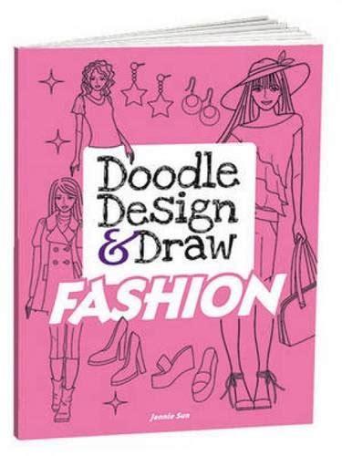 home design doodle book doodle design draw fashion dover doodle books import