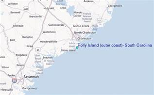 folly island outer coast south carolina tide station
