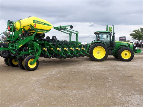 Farm Planters by Deere 8310r With 28 Row 1790nt Corn Planter Most