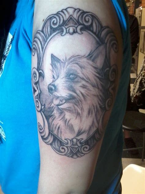 dog with tattoo tattoos designs ideas and meaning tattoos for you