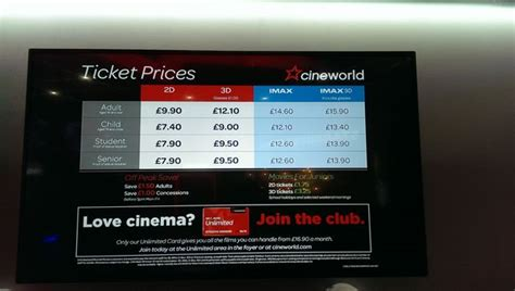 cineplex imax ticket prices what s the average cost of a cinema ticket is the imax