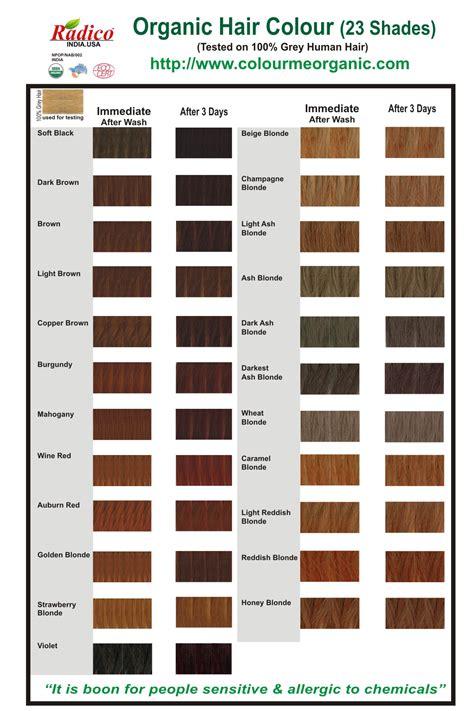 organic hair color certified organic hair color dye light reddish