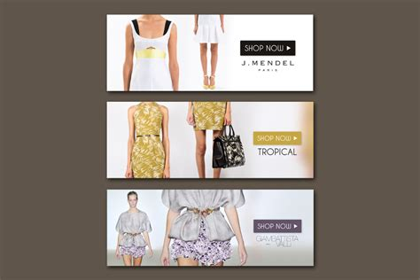 design fashion banner modern feminine banner ad design for rachel by movanserr