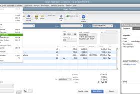 quickbooks tutorial overview duplicate an estimate in quickbooks pro tutorial