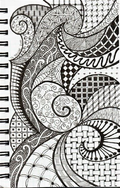zendoodle drawing competition zentangles journal inspiration