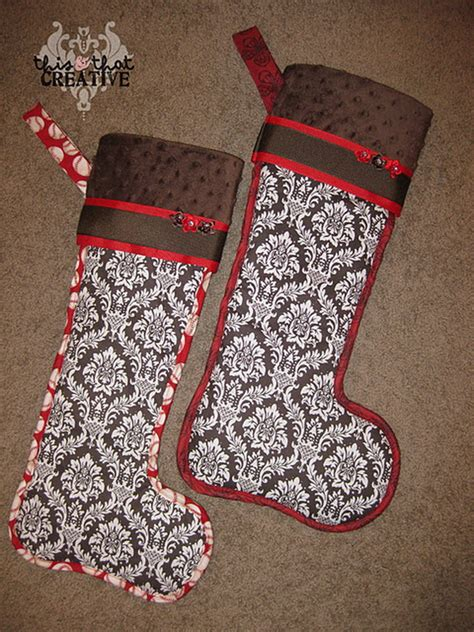 unique christmas stockings easy unique handmade christmas stockings ideas family