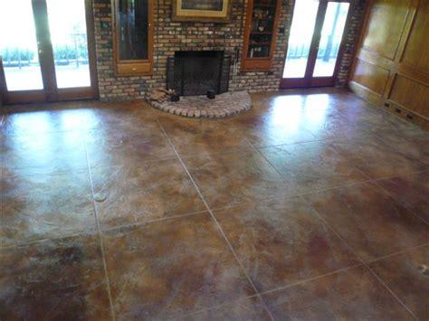Acid Wash Concrete Floors by Services Concrete Miracles