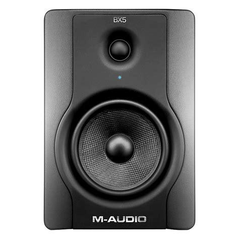 M Audio Bx5 by M Audio Bx5 D2 Studio Monitor Each Musician S Friend