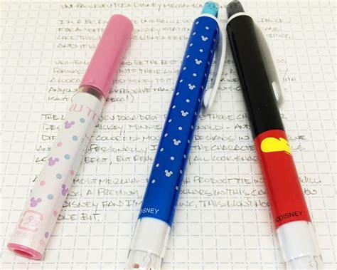 Premium Mechanic Pencil Uni Kurutoga Disney Mickey Mouse N Black uni kuru toga disney mechanical pencil the pen addict