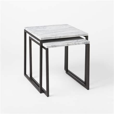 Marble Side Table West Elm Inspired Diy Marble Table Kristi Murphy Do It Yourself