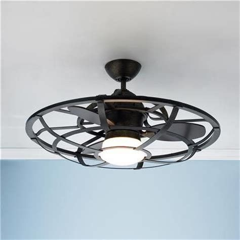 Caged Ceiling Fan by Industrial Cage Ceiling Fan